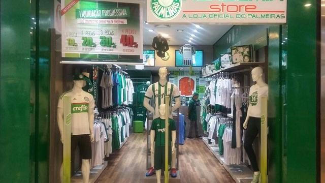f54cb54ab9875 Oportunidade! Academia Store Loja Oficial do Palmeiras em Santo André